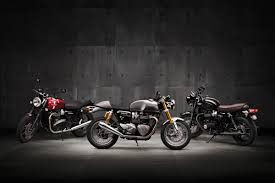 2016 triumph bonneville classics return of the cafe racers
