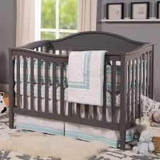 Crib Converts To Bed by Davinci Laurel 4 In 1 Convertible Crib In Slate Free Shipping
