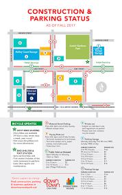 parking map downtown oak park