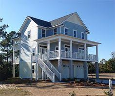 Beach Cabin Plans Elevated Raised Piling And Stilt House Plans Coastal Home