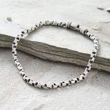 link men silver bracelet images Men 39 s sterling silver box link bracelet hurleyburley jpg