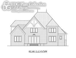 Tudor Floor Plans by Baucom Edg Plan Collection