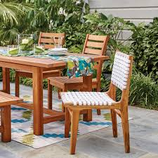 World Market Outdoor Chairs by White Strap Girona Dining Chairs Set Of 2 World Market