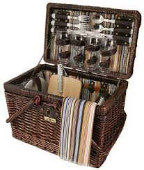 picnic basket set for 4 picnic baskets picnic backpacks gifts from picnic world