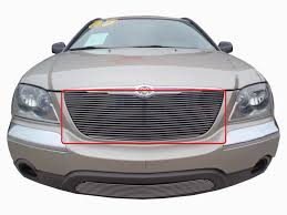 2005 chrysler pacifica 1pc bumper billet grille kit