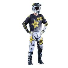 honda motocross jersey answer racing 2016 rockstar jersey and pants package white black