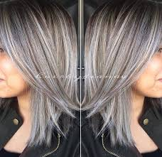 salt and pepper hair with brown lowlights best 25 gray highlights ideas on pinterest silver highlights