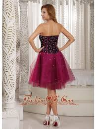 design own a line beading brand new cocktail dress fuchsia tulle