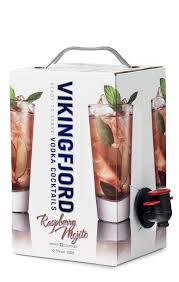 mojito cocktail mix vikingfjord vodka cocktails raspberry mojito vikingfjord