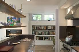 kitchen bookshelf ideas designs ideas kitchen decor idea with modern island wood