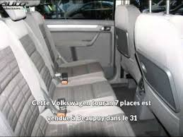 siege sharan occasion auto excellence présente une volkswagen touran 7 places occasion à