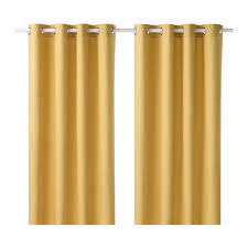 Ikeas Curtains Mariam Cortina 1par Amarillo Room Lights And Bedrooms