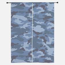 blue camouflage window curtains u0026 drapes blue camouflage curtains