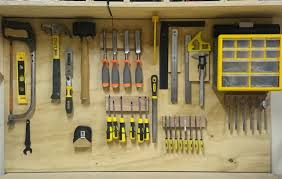 replacing my cleat tool storage with wall tool