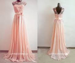 dress pink prom dress wedding dress lace prom dress prom