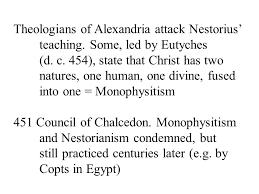 Council Of Chalcedon Teachings Proto Orthodox Early Catholics Apocryphal Gospels E G Gospel Of