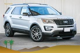 pre owned ford explorer sport used 2017 ford explorer for sale indio ca 1fm5k8gt4hgb33180fp16924