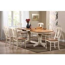 Oval Dining Tables And Chairs Iconic Furniture Caramel Biscotti Dining Table Overstock