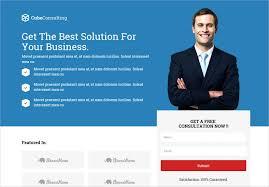 10 popular responsive landing page templates free u0026 premium