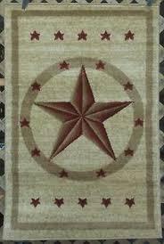 Rustic Cabin Lodge Area Rugs Western Texas Star Country Rustic Southwest Lodge Cabin Area Rugs