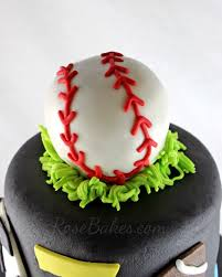 baseball cake topper behance