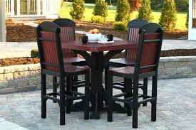 Patio Bar Height Table And Chairs by Tables U0026 Chairs Amish Merchant
