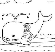 Jonah And The Whale Coloring Page At Coloring Book Online Whale Color Page