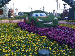 flower garden layout 52 weeks of disney week 15 where is mater at epcot flower and