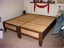 Easy Platform Bed With Storage Simple And Basic Diy Platform Bed Plans Southbaynorton Interior Home