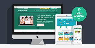 design online education online education psd template by themerex themeforest