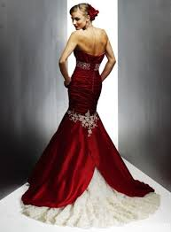 red and white wedding dresses fabulous style inspirations