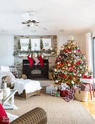 Make Your Own Christmas Decoration - designer christmas decorations large square lamp shade end tables