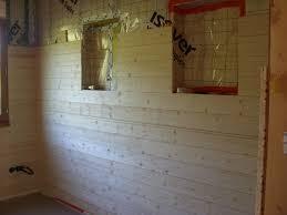 bardage bois chambre lambris chambre notre cabane en bois