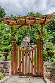 Gate For Backyard Fence 74 Best Fence And Gate Images On Pinterest Fence Garden Gates