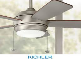 transitional style ceiling fans the transitional 52 kichler starkk ceiling fan highlights clean