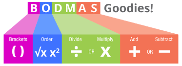 bodmas order of operations explained