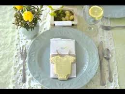 baby shower table settings simple baby shower table setting ideas youtube