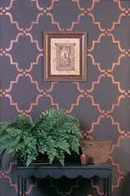 Floral Wall Stencils For Bedrooms Best 25 Wall Stencils For Painting Ideas On Pinterest Diy