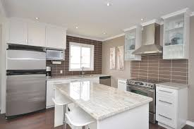 kitchen fancy white shaker kitchen cabinets with granite