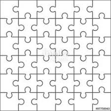 puzzle template 25 pieces google search birthday ideas