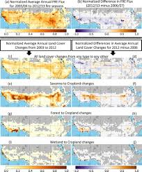biomass burning land cover change and the hydrological cycle in