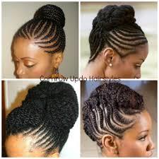 braided bun updo natural hair braided updo natural hairstyles