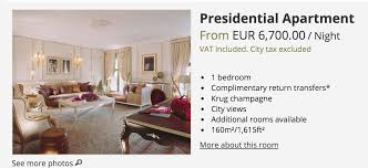 Most Expensive 1 Bedroom Apartment Lungu Entourage Choose Most Expensive Hotel In Paris U2013 Zambian