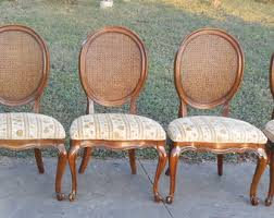 Cane Back Dining Room Chairs French Cane Chair Etsy