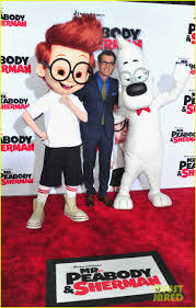 leslie mann u0026 ty burrell u0027mr peabody u0026 sherman u0027 premiere photo