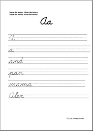 7 best guide cursive images on pinterest
