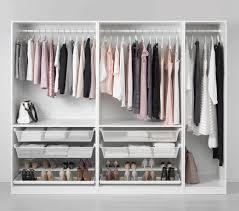 walk in closet combinations