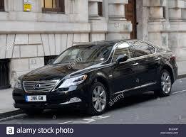 lexus hybrid models uk black lexus hybrid car parked in a street in london england stock