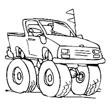 truck coloring pages awesome colo 911 unknown