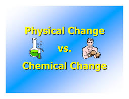 chemical and physical changes secondary ppt pinterest